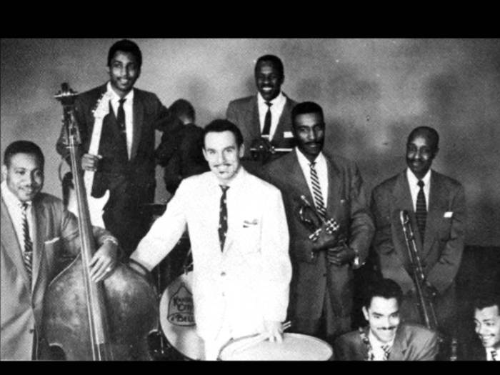 Johnny Otis and band